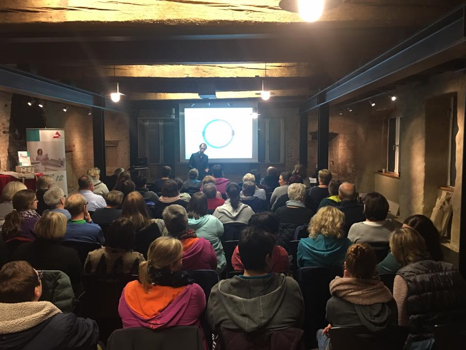 Kick Off Veranstaltung zur neuen Vortragsreihe Lymphupdate 1